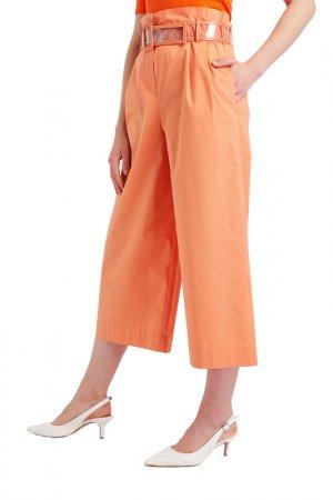 Брюки BGN. Цвет: оранжевый