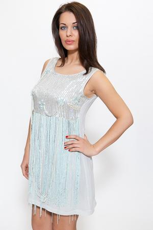 Платье Aftershock. Цвет: clearly aqua