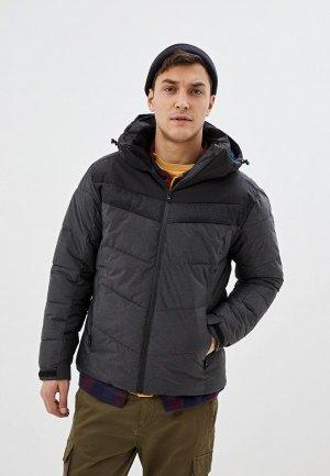 Куртка утепленная CMP. Цвет: серый