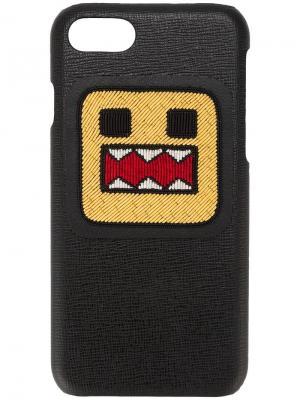 Чехол для iPhone 7 8-bit monster Les Petits Joueurs. Цвет: черный