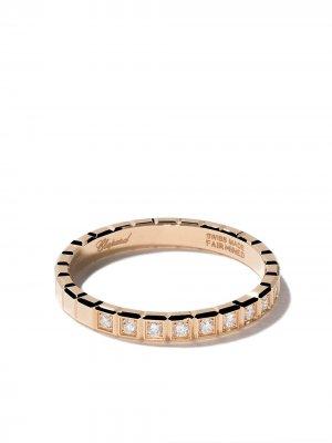 18kt yellow gold Ice Cube diamond ring Chopard. Цвет: fairmined желтый