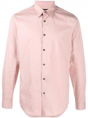Поплиновая рубашка Sylvain Theory. Цвет: розовый