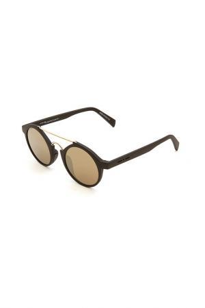 Очки солнцезащитные ITALIA INDEPENDENT. Цвет: 009 000 черный матовый