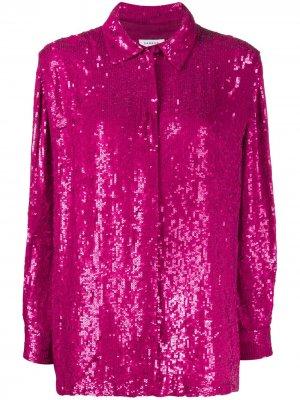 Рубашка Gummy с пайетками P.A.R.O.S.H.. Цвет: розовый