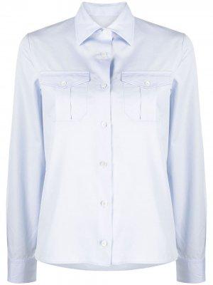 Рубашка 2 Pocket Lemaire. Цвет: синий