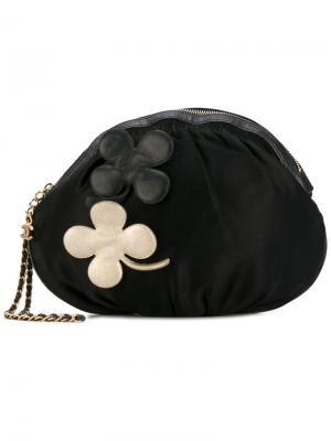 Клатч Chanel Vintage. Цвет: черный