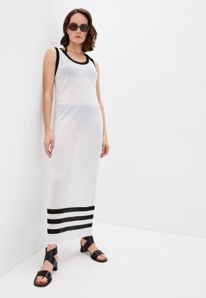 Платье пляжное Liu Jo. Цвет: белый