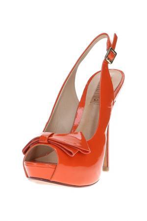 Босоножки SCHUTZ. Цвет: оранжевый