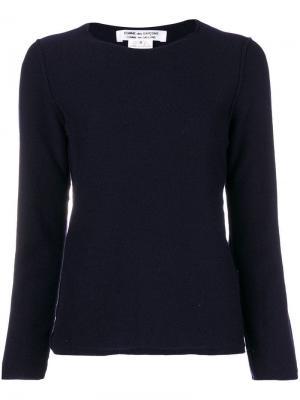 Crew neck sweater Comme Des Garçons. Цвет: синий