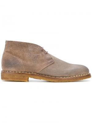 Ботинки-дезерты Maison Margiela. Цвет: телесный