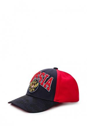 Бейсболка Atributika & Club™. Цвет: красный