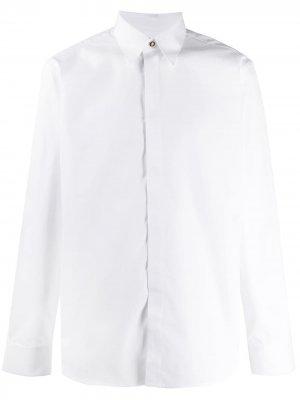 Рубашка с длинными рукавами Givenchy. Цвет: белый