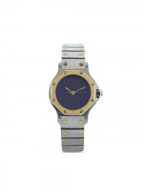 Наручные часы Ronde pre-owned 24 мм 1990-х годов Cartier. Цвет: серый