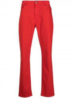 Расклешенные джинсы с завышенной талией Etro. Цвет: красный