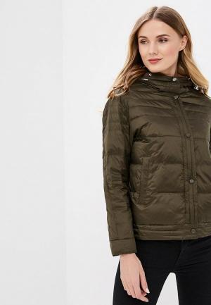Куртка утепленная Clasna. Цвет: хаки