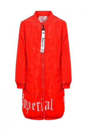 Пальто STEFANIA. Цвет: красный