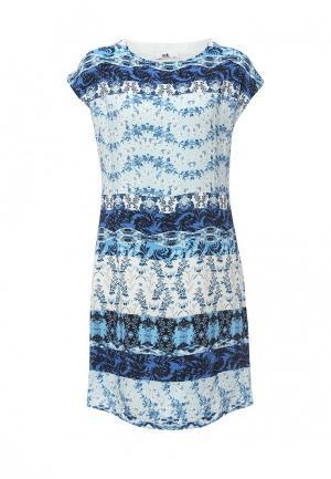 Платье adL. Цвет: голубой