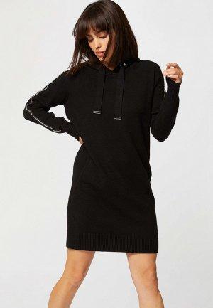 Платье Morgan. Цвет: черный