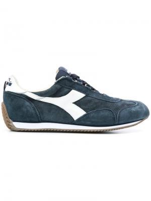 Lace-up sneakers Diadora. Цвет: синий