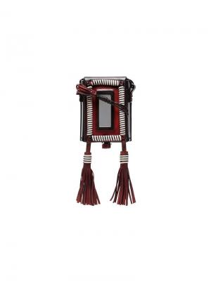 Колье-клатч Marrakech с портсигаром Saint Laurent. Цвет: разноцветный