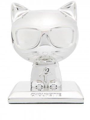 Статуэтка K/Ikonic 3D Choupette (17 см) Karl Lagerfeld. Цвет: серебристый