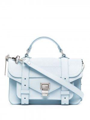 Маленькая сумка PS1 Proenza Schouler. Цвет: синий
