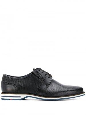Классические туфли дерби Lloyd. Цвет: черный