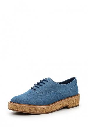 Ботинки Aldo. Цвет: голубой