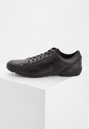 Кроссовки Emporio Armani. Цвет: черный