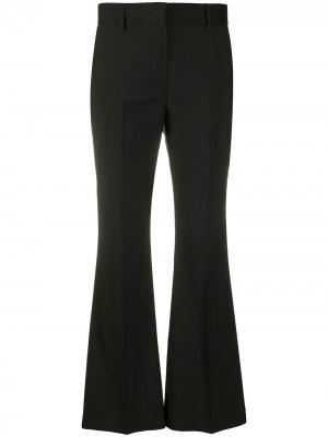 Расклешенные брюки средней посадки MSGM. Цвет: черный