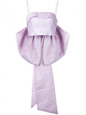 Топ-бюстье с бантом Magnolia Bambah. Цвет: розовый
