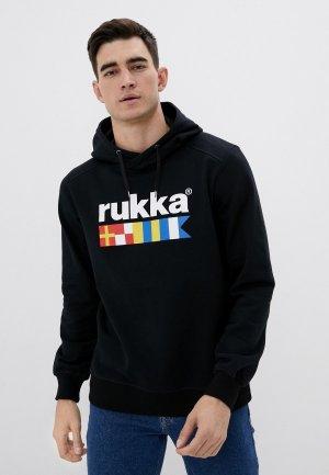 Худи Rukka. Цвет: черный