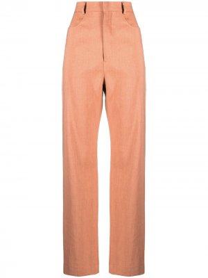 Расклешенные брюки Le Pantalon Sauge Jacquemus. Цвет: коричневый