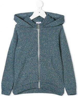 Fog Blend hoodie Knot. Цвет: синий