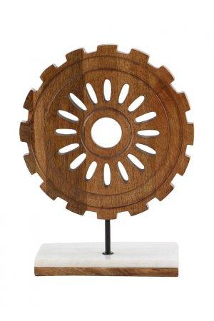 Скульптура Шестеренка UMA. Цвет: коричневый