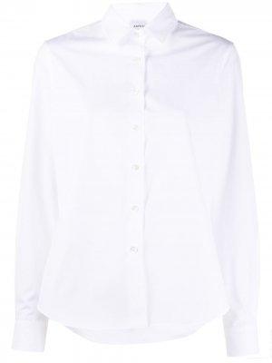 Рубашка на пуговицах Aspesi. Цвет: белый