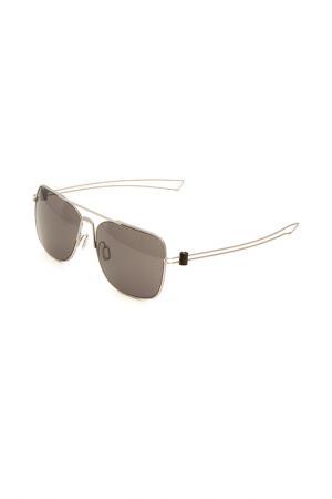 Очки солнцезащитные MOMODESIGN. Цвет: 01 серебристый матовый