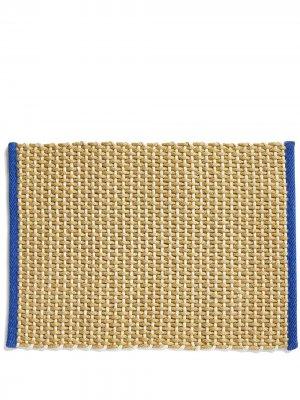 Плетеный придверный коврик Hay. Цвет: нейтральные цвета