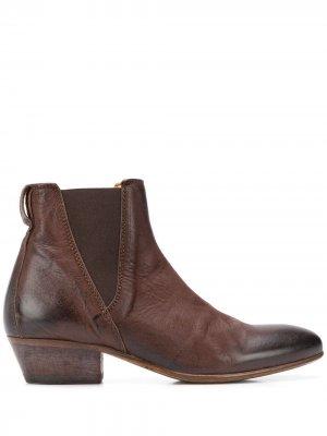 Ботинки New Mexico 40 Moma. Цвет: коричневый