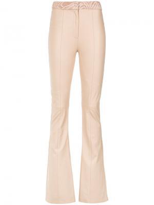 Широкие брюки Magali Martha Medeiros. Цвет: нейтральные цвета
