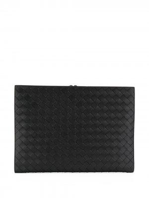 Папка для документов Bottega Veneta. Цвет: черный