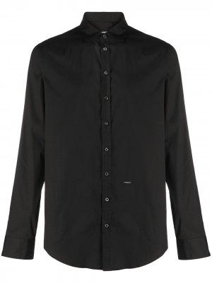 Рубашка с длинными рукавами Dsquared2. Цвет: черный