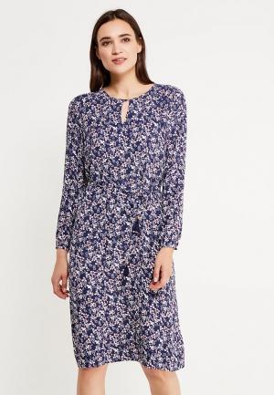 Платье Savage. Цвет: синий