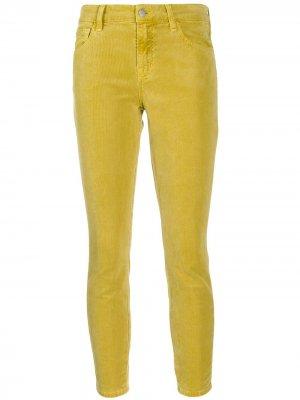 Вельветовые брюки чинос J Brand. Цвет: зеленый