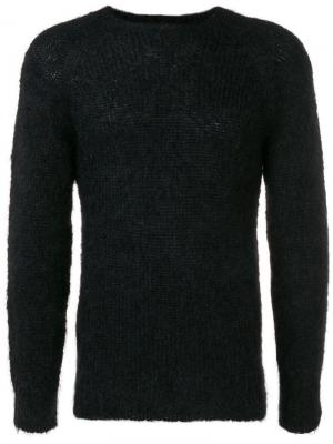 Фактурный свитер Secret Lover Howlin'. Цвет: черный