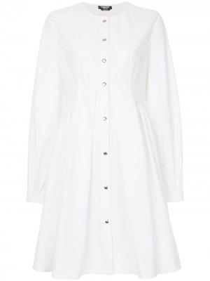 Flared shirt dress Calvin Klein 205W39nyc. Цвет: белый