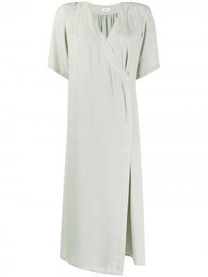 Платье миди Amalia с запахом Filippa K. Цвет: зеленый