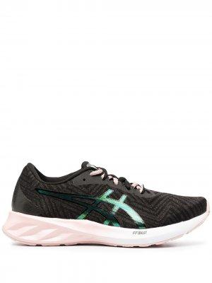 Беговые кроссовки ASICS. Цвет: черный