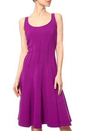 Платье Oscar de la Renta. Цвет: фиолетовый