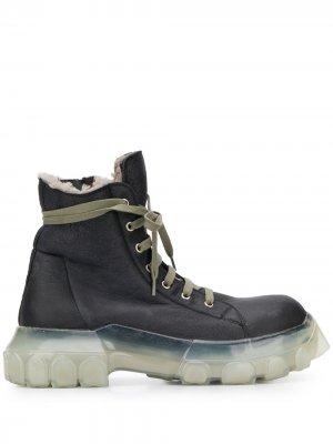 Ботинки на шнуровке Rick Owens. Цвет: черный